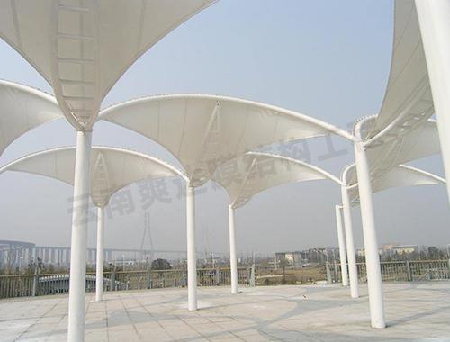 景观膜结构看台