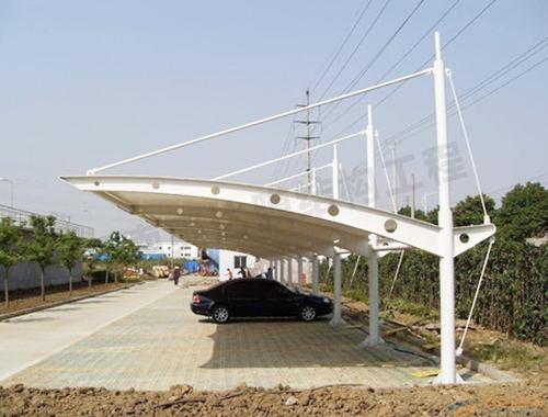 停车场地膜结构