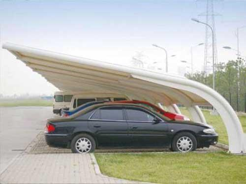 云南红河膜结构停车棚