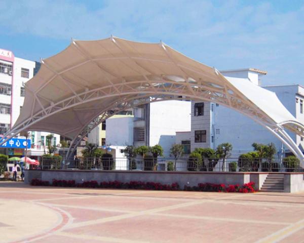 云南广场景观膜结构