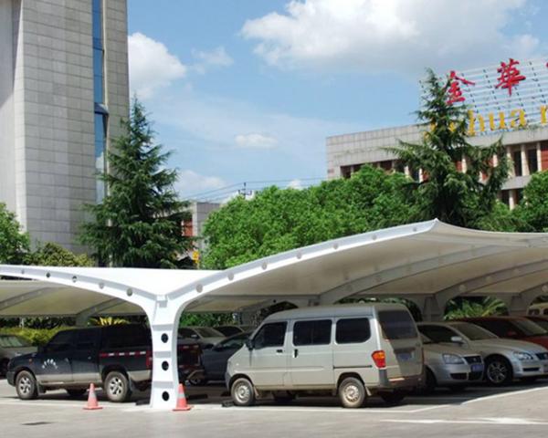 云南张拉膜结构停车棚