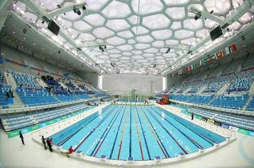 崇左游泳馆池膜结构