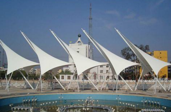 膜結構景觀雨陽傘