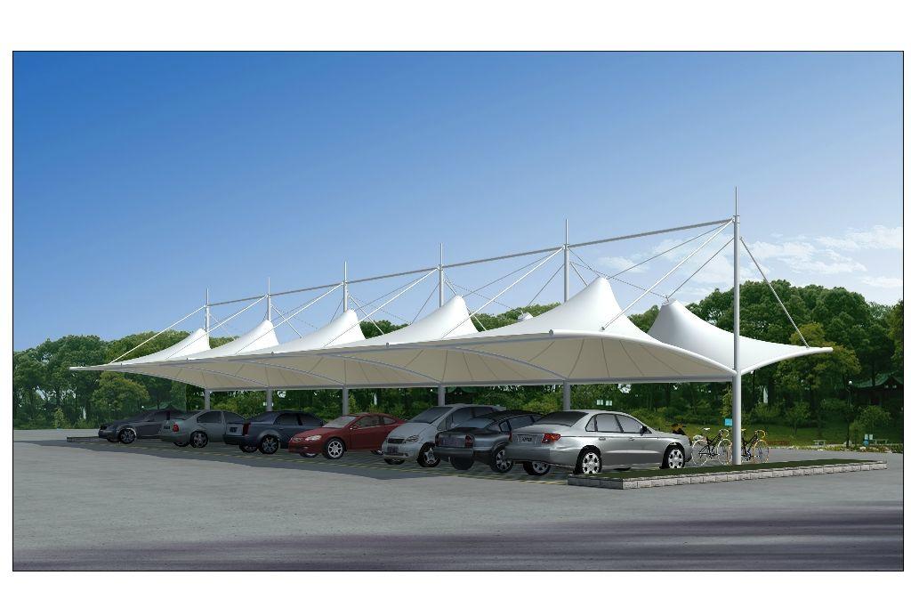 膜结构停车棚的基础施工标准你知道吗