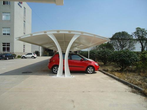 学校膜结构停车棚厂