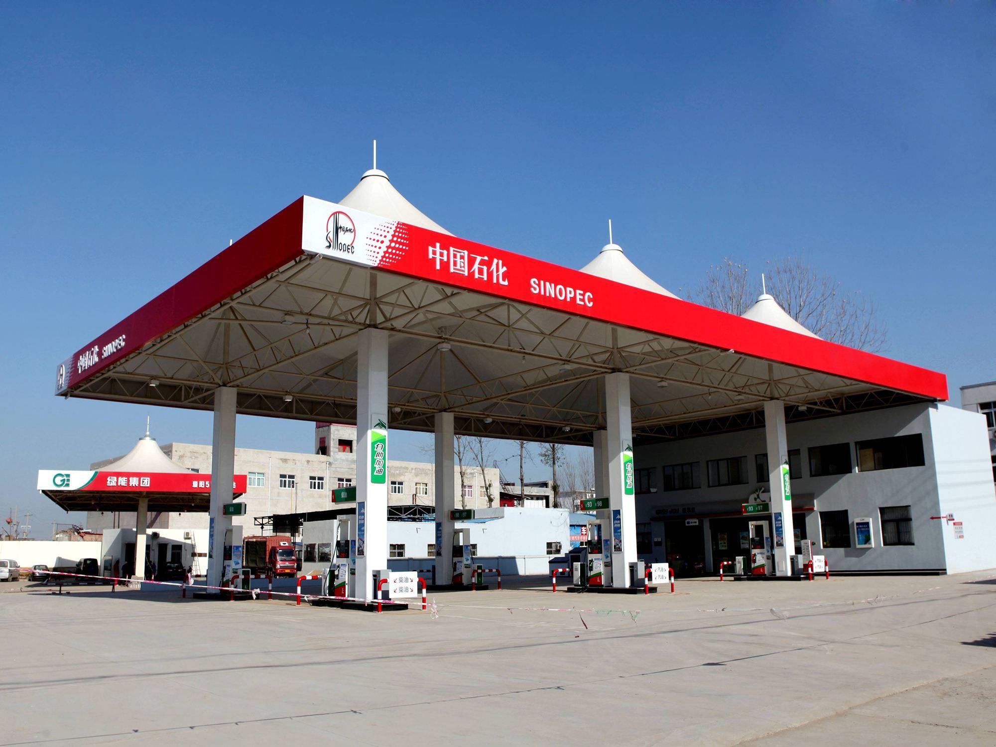 加油站膜结构厂