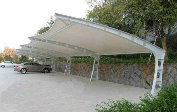 定制钢膜结构车棚价格是怎样的呢?