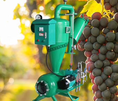 铁质离心网式过滤器 带施肥功能可同时控制水泵