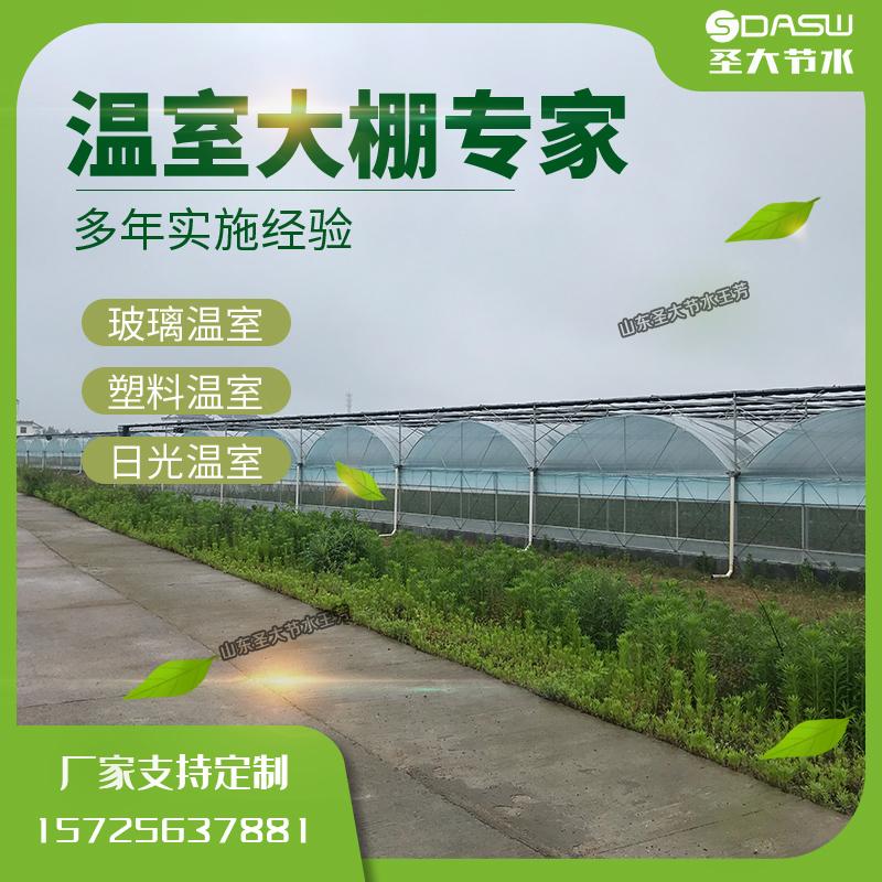 寿光温室大棚厂家 多年建造经验蔬菜果树玻璃日光塑料温室价格优