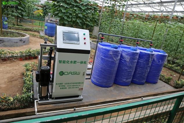 十大网赌信誉平台施肥机助力寿光菜博会水肥一体化改造