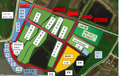 武汉蔡甸区果树蔬菜水稻基地滴灌水肥一体化项目规划设计