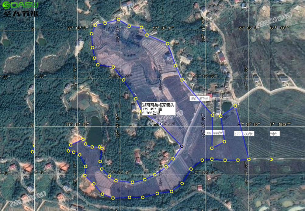 南岳杨家塘头果园滴灌水肥一体化灌溉项目方案设计
