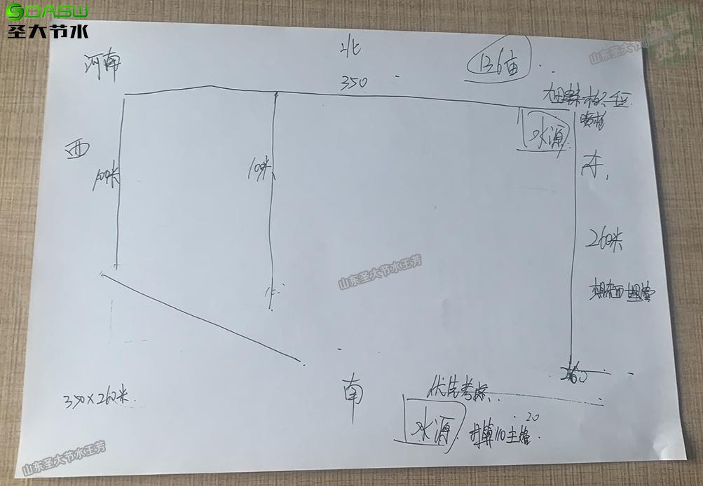 周口高标准农田大田喷灌水肥一体化设计