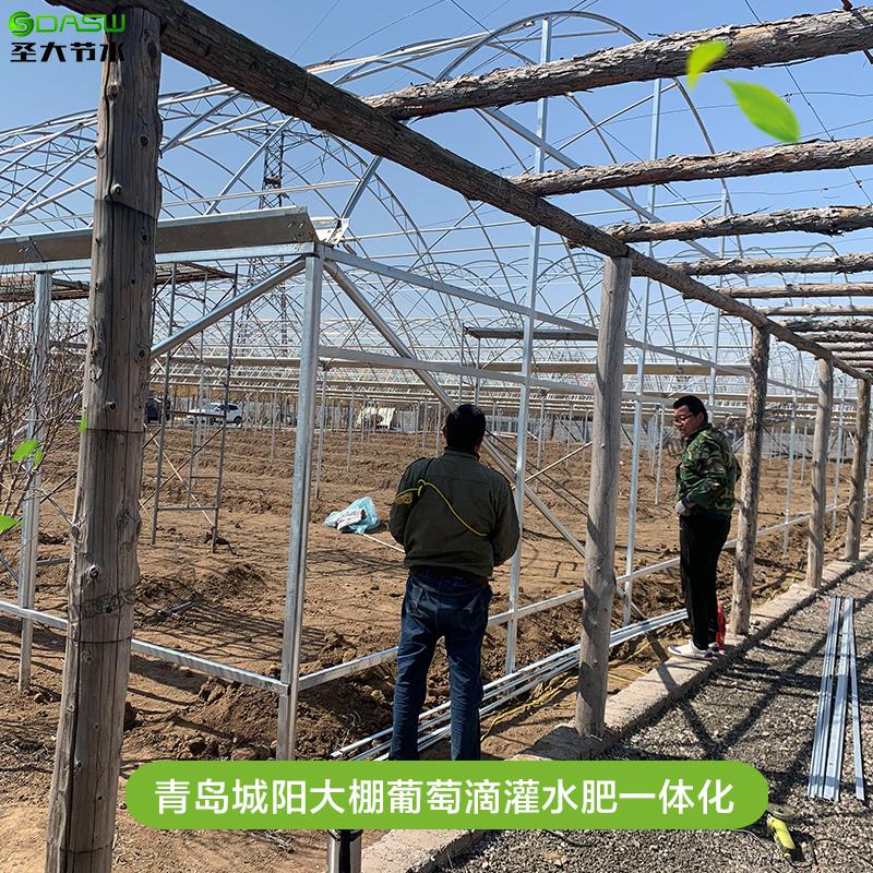 葡萄水肥一体化设计 青岛城阳大棚滴灌清单预算施工全自动施肥机