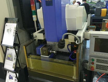 雕铣机行业分割器应用案例
