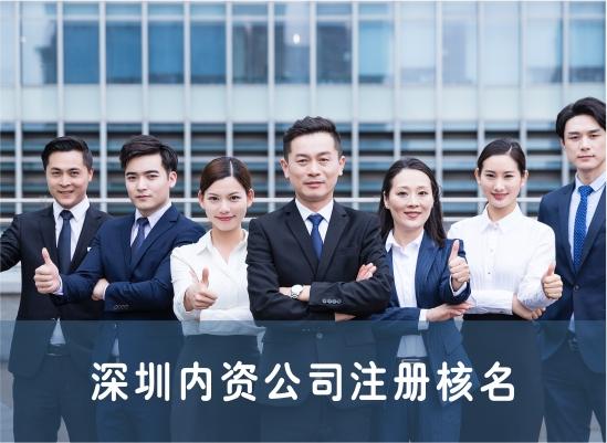 深圳内资公司注册核名