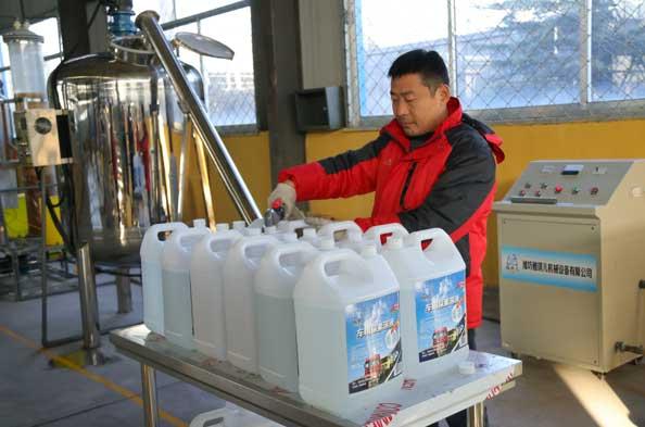小型全自动车用尿素生产设备