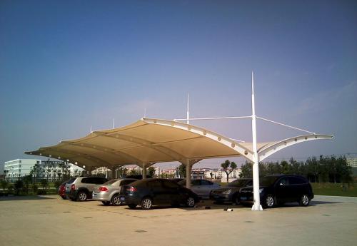 膜结构停车棚定制需明确认识自己的需求!