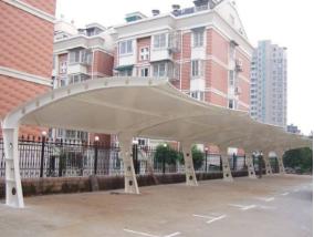 凌源/北票膜結構停車棚的排水系統非常關鍵