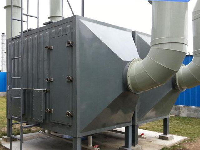 电子厂废气处理