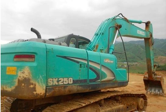 神钢SK250-8不好启动维修