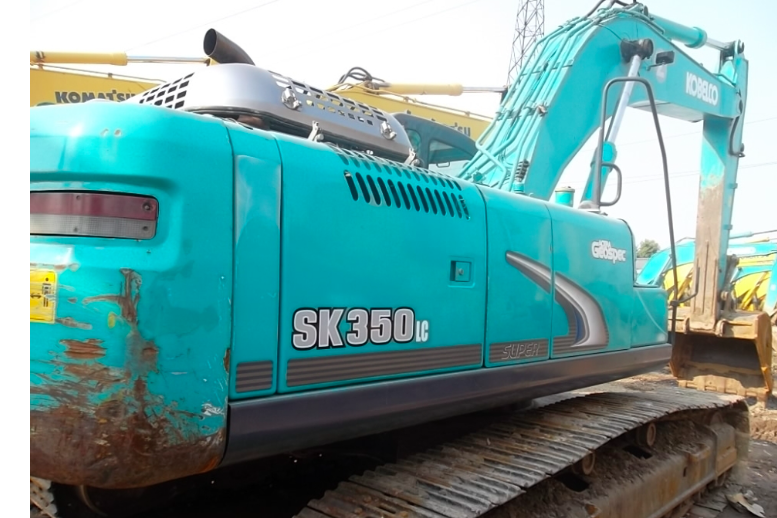 神钢SK350LC-8不好启动维修