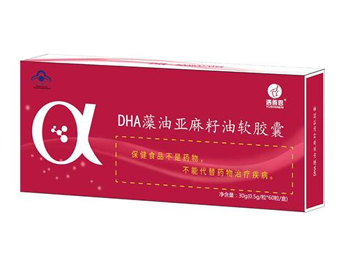 DHA藻油亚麻籽油软胶囊