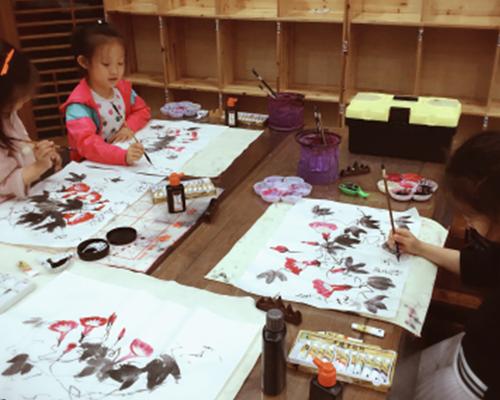 童蒙国画班