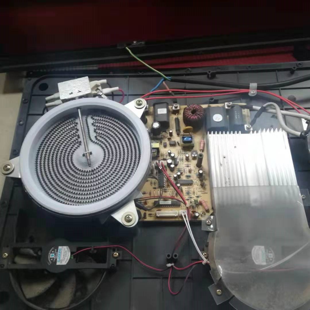尚朋堂家用小功率电磁炉维修案例