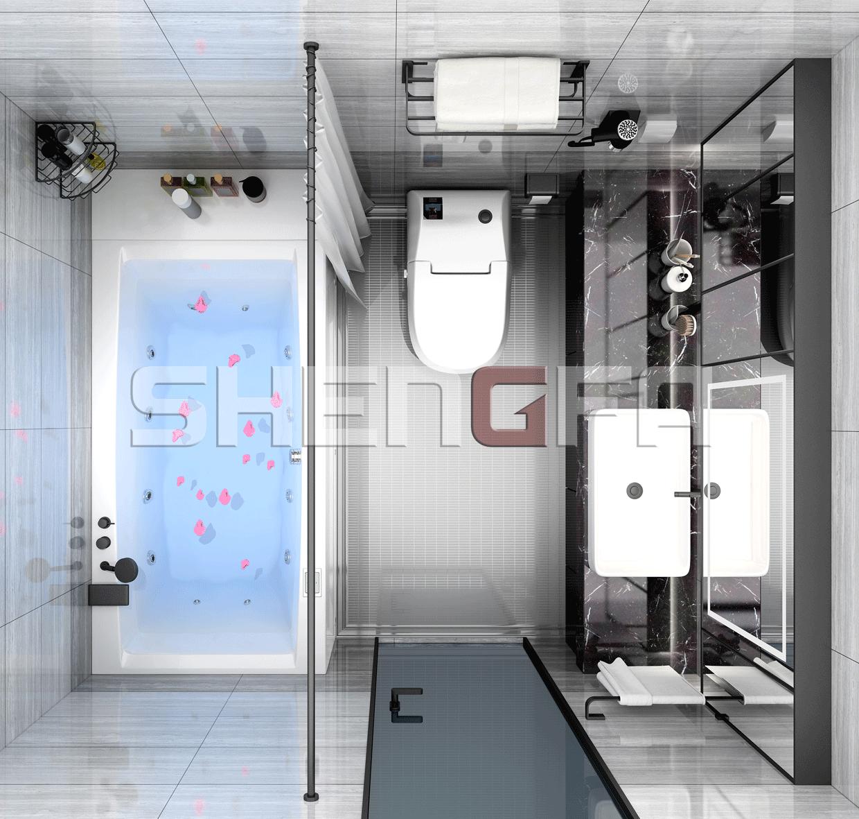 家用整体卫浴要怎么清洗呢?