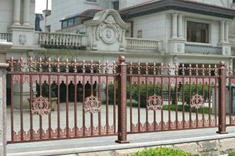 室外铝艺围栏
