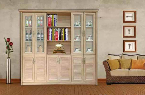 简约现代全铝书柜