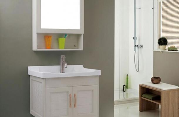简约现代全铝卫浴柜