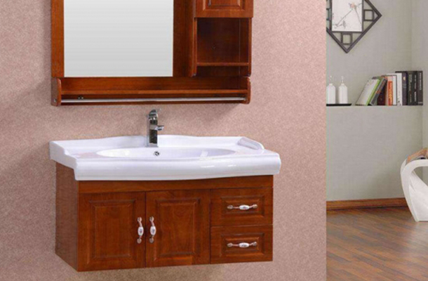 仿木全铝卫浴柜