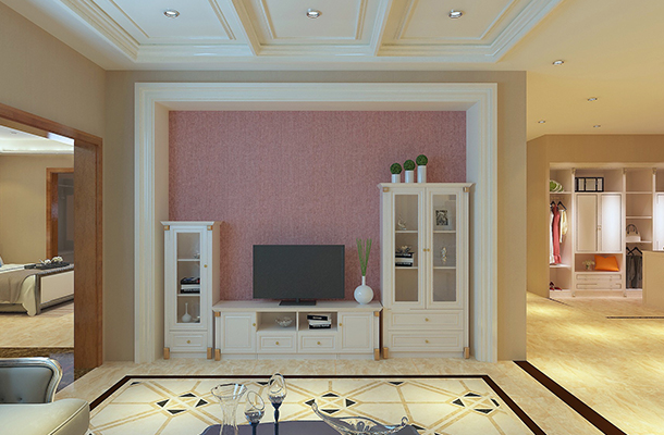 现代简约全铝电视柜