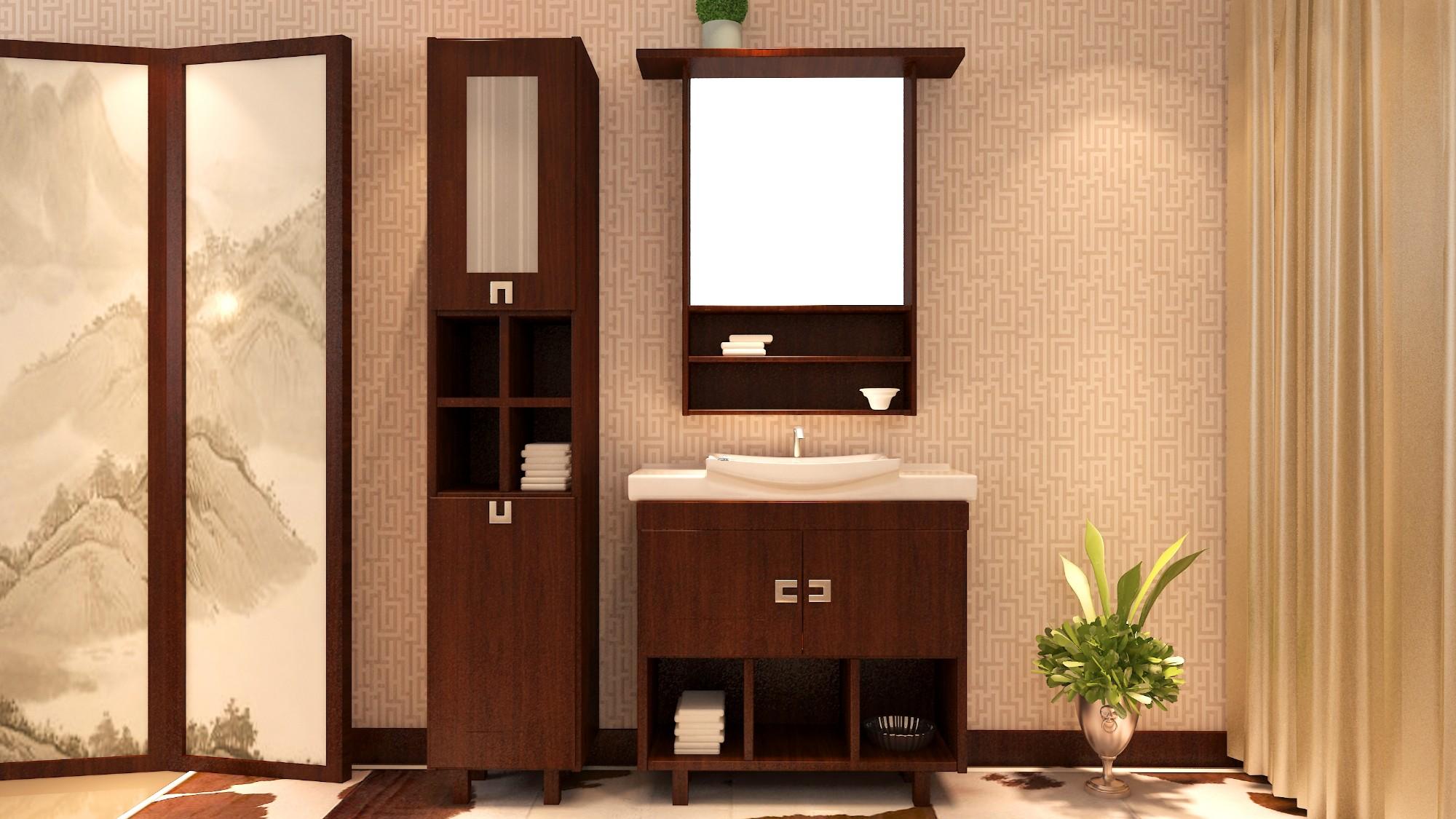 都市簡約浴室柜