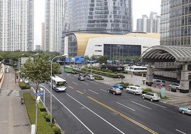 广州商业街海绵城市生态多孔纤维棉改造工程