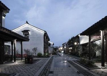 杭州古景街道海绵城市生态多孔纤维棉改造工程