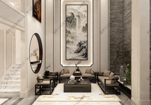 中式别墅高端设计:取朝代之雅,融一舍之屋