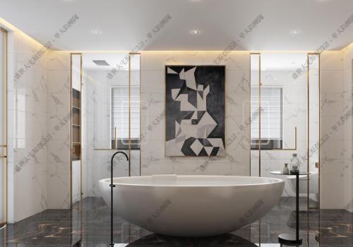 别墅高端设计的空间层次感与线条感结合