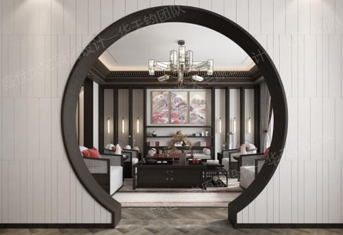 无法拒绝的新中式沈阳私宅别墅设计