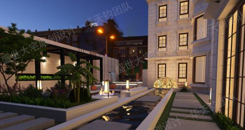 沈阳别墅庭院设计装修过程中的原则介绍