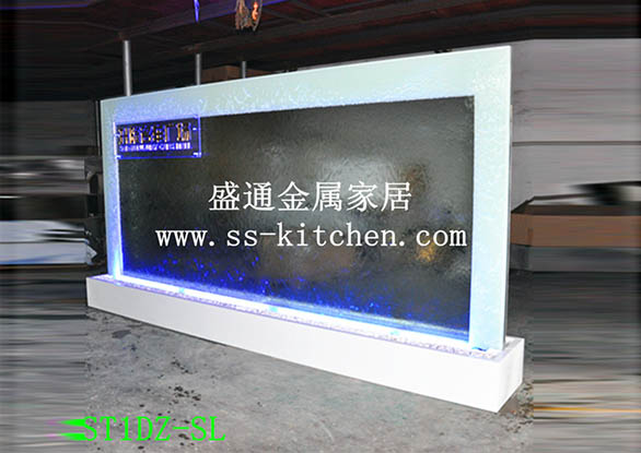 水幕墻工程案例-上海大眾款水幕墻