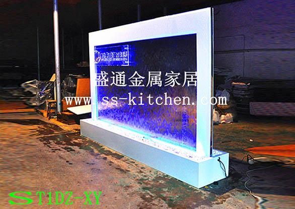 水幕墻工程案例-翔宇廣告傳媒水幕墻公司形象墻1 004