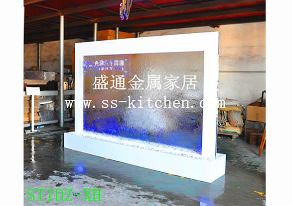水幕墻工程案例-上海大眾款4S店水幕墻