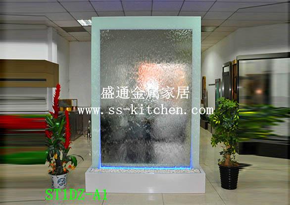 水幕墙工程案例-上海大众水幕墙