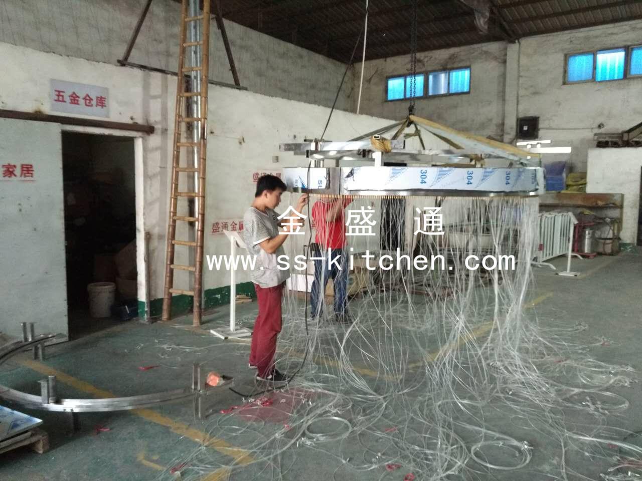 拉线水帘,吊线水帘金盛通拉线水帘内蒙古呼和浩特工程