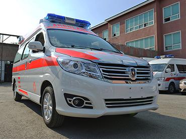 全新阁瑞斯高顶监护型救护车