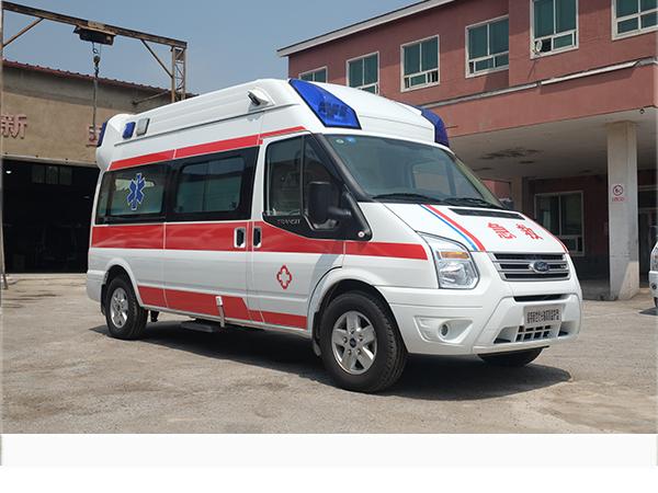 新世代长轴高顶监护型救护车