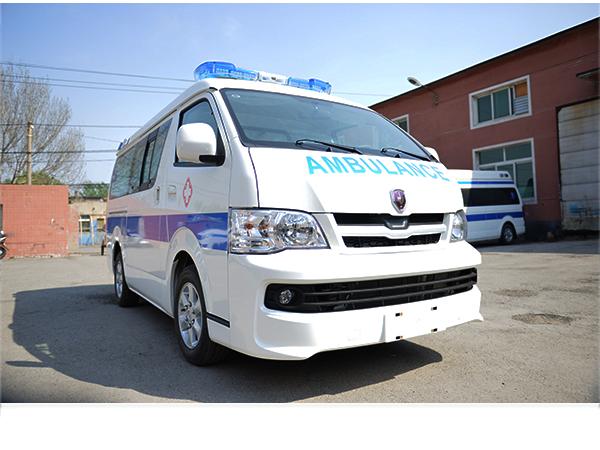 金杯新海狮监护型救护车